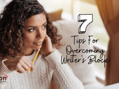 7 Tips For Overcoming Writer's Block