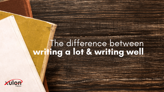 There are 2 approaches to writing: writing a lot & writing well. To produce quality writing you must employ both approaches. Let's dive deeper: