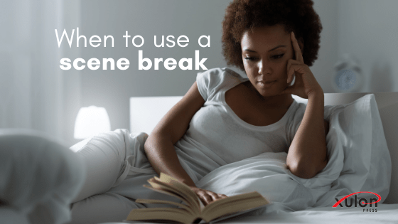 After reading an intense, significant scene, readers might need a little breather (scene break). Here are 4 other times to use a scene break in your novel..