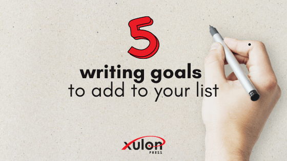 Use the rest of this month to experiment with some new aspects of writing. Here are 5 writing goals you can still accomplish this month: 1.) T...