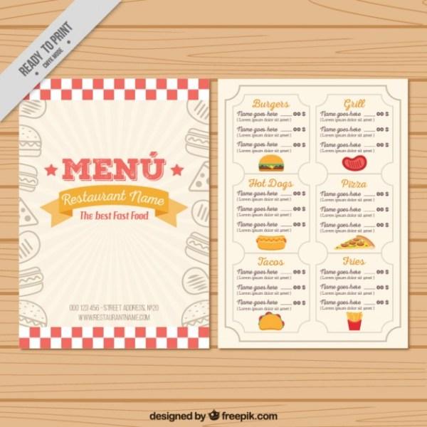 in menu cho nhà hàng giá rẻ