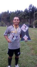 Juninho foi o artilheiro do campeonato