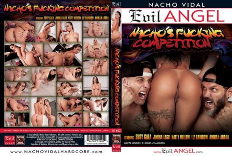 Nacho's Fucking Competition Porn DVD Image