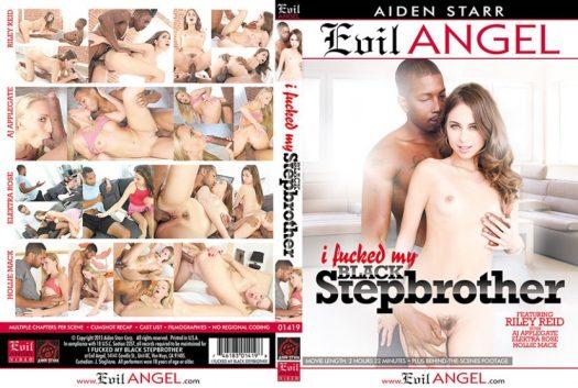 I Fucked My Black Stepbrother Porn DVD Image
