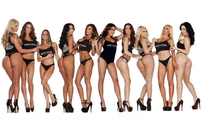 Brazzers Porn Stars Group Photo
