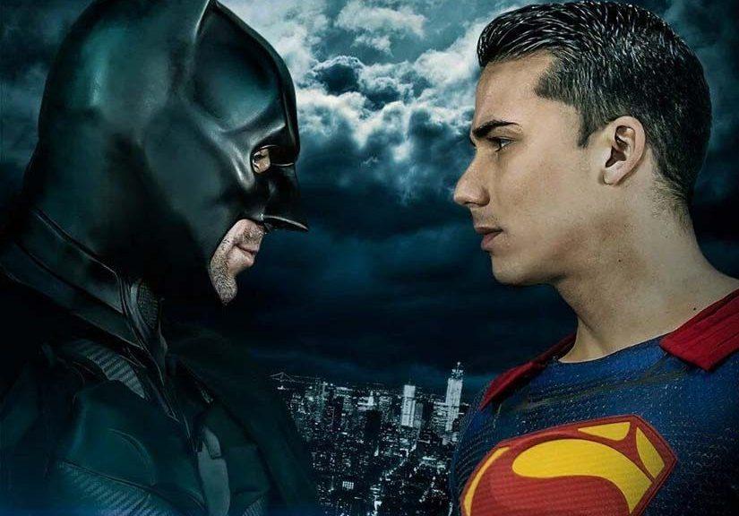 Superhero gay porn parody