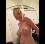 Attractive Wife With Big Tits Homemade