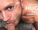 Huge Facial Compilation. Mars Gymburger
