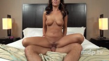 Milf bartender doing porn first time in hotel
