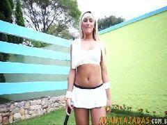 Xxx travesti Juliana Souza em videos porno solo