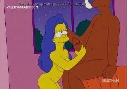 Os Simpsons Hentai Marge traindo Homer com seu melhor amigo