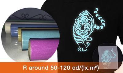 High-brightness-reflective-heat-transfer-vinyl