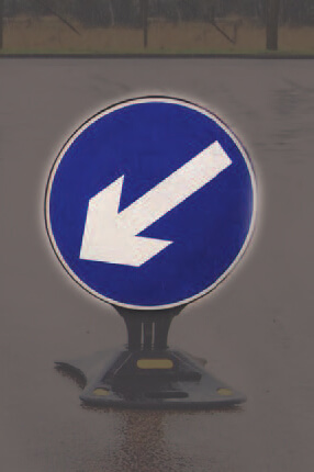 pop sign sticker