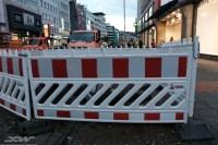 reflective barricade tape