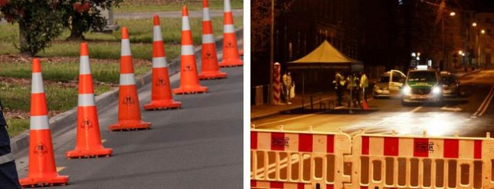 High-Intensity Reflective Tapes for Cone Barricade and Cylindrical Barricade