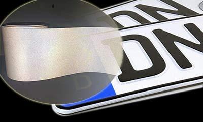 XW8200 reflective license plate film