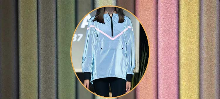 colored reflective fabric for fashion clothing