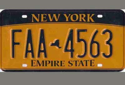 license plate reflective film for America XW8200
