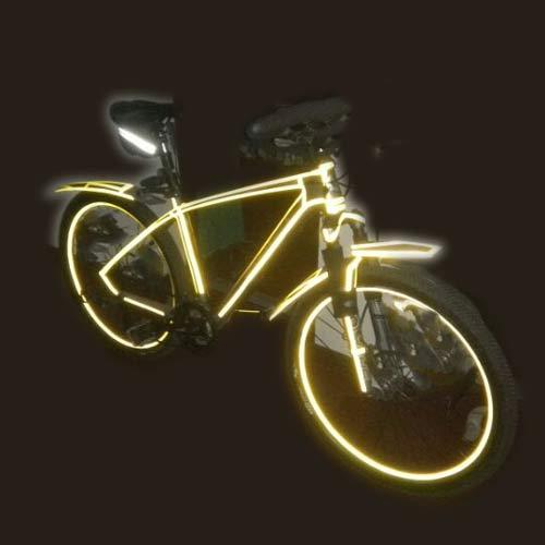 reflective bike frame
