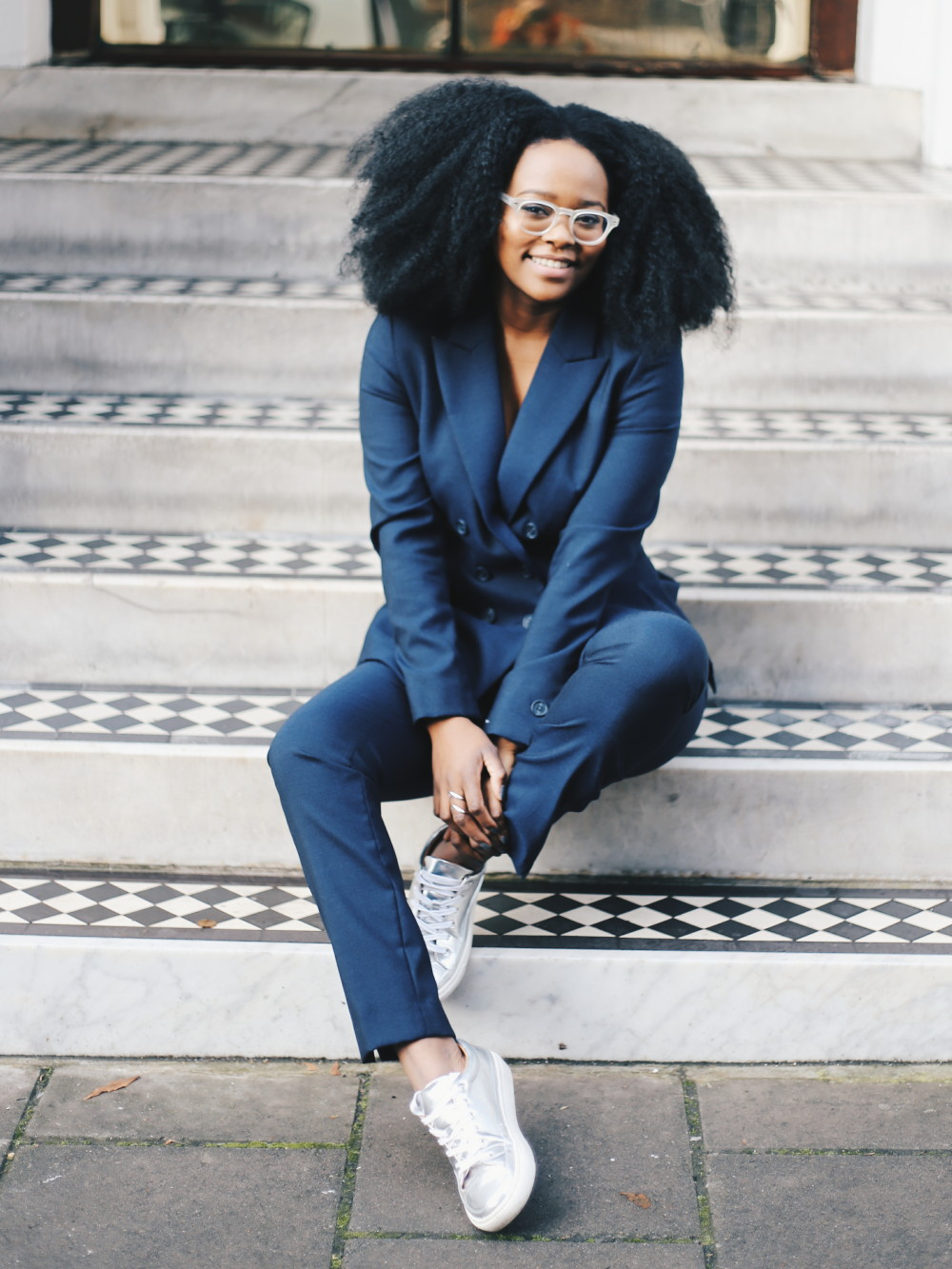 afro hair, blogger with afro, uk natural hair blogger