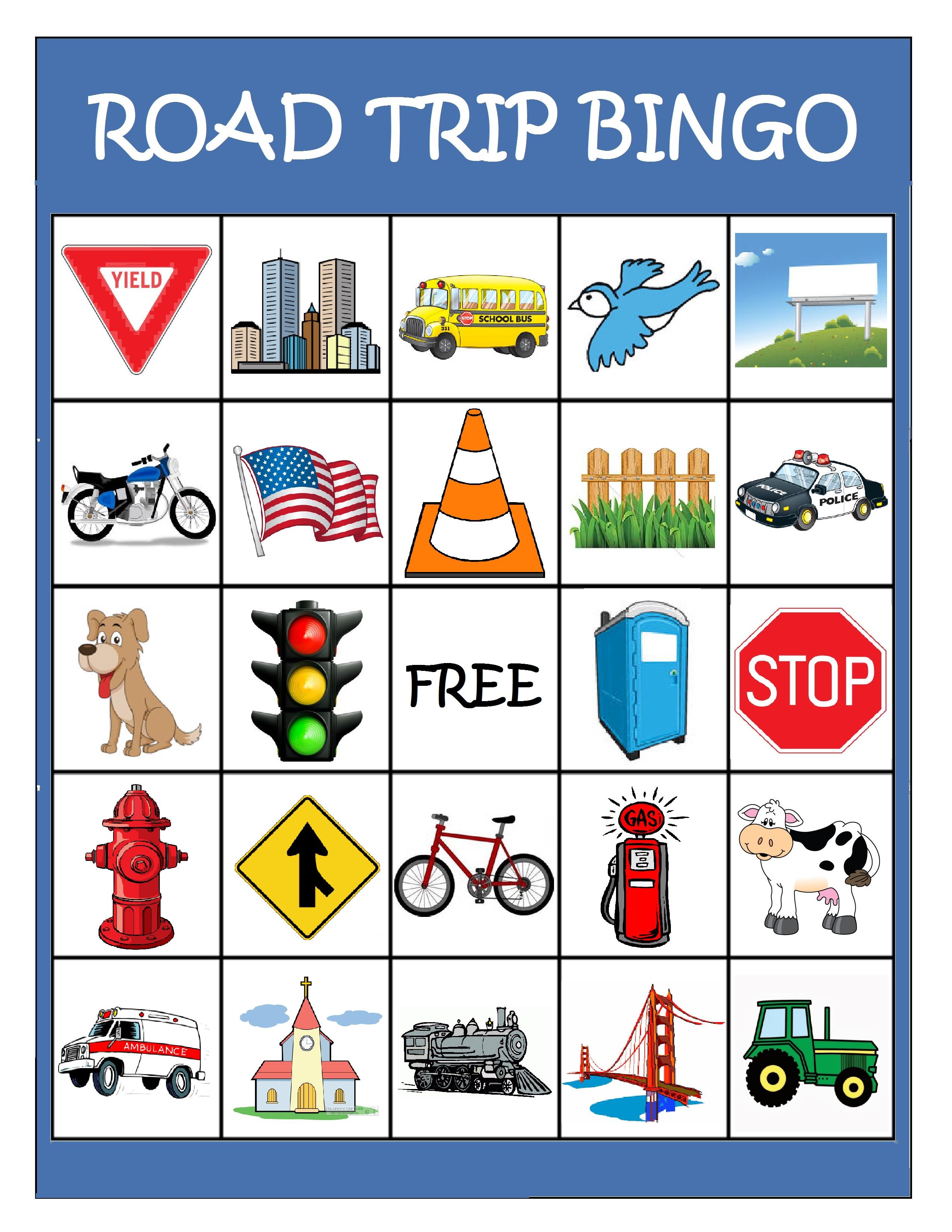 The Best License Plate Bingo Printable