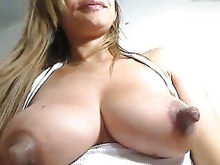 big puffy lactating nipples