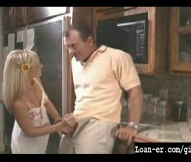 Hot Blondle Teen Gives Great Handjob In Kitchen Xxxbunker Com Porn Tube