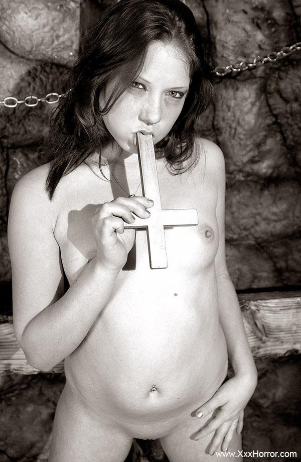 Satanic girl porn