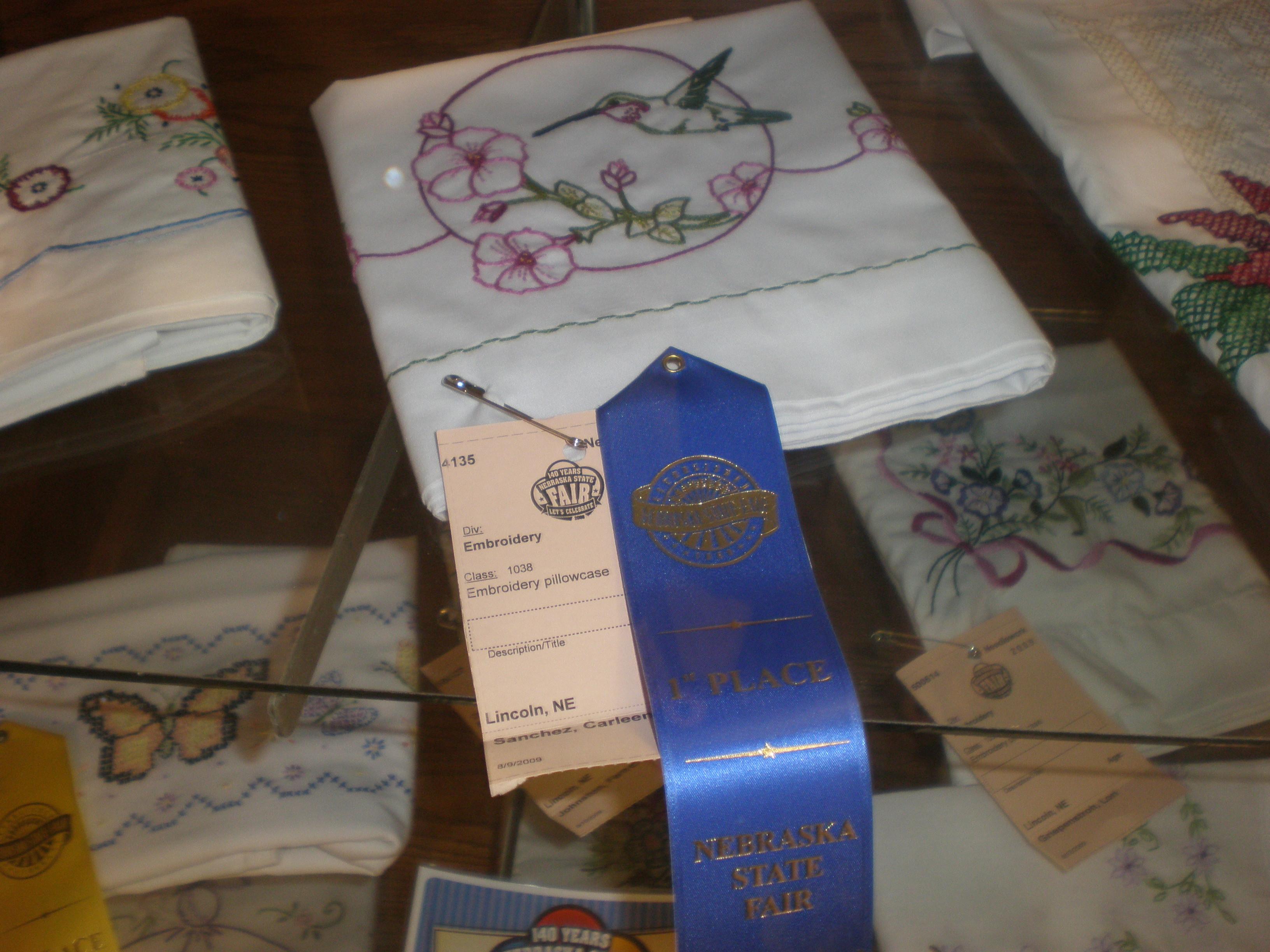 1st place pillow