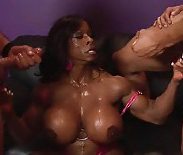 Big Black Ebony Double Blowjow Big Boobs Big Butts Blowjob Bukkake