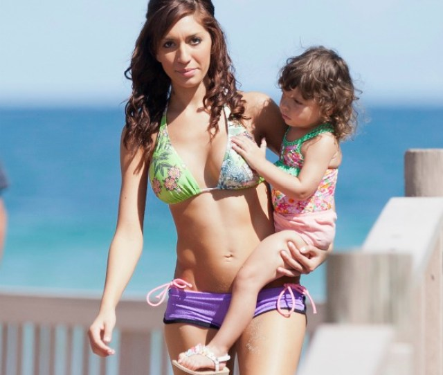 Teen Mom Farrah Abraham Reunited With Baby Gossip Extra