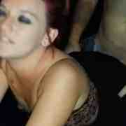 Tattooed HotWife Fucking Two Strangers in the Bar Parking Lot