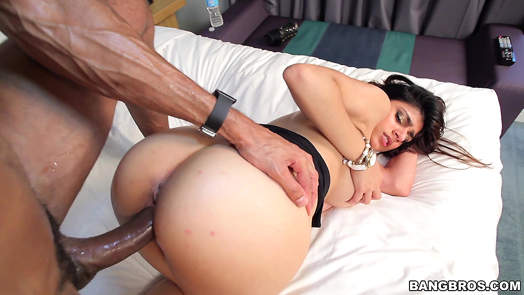 Wife spanks husbands