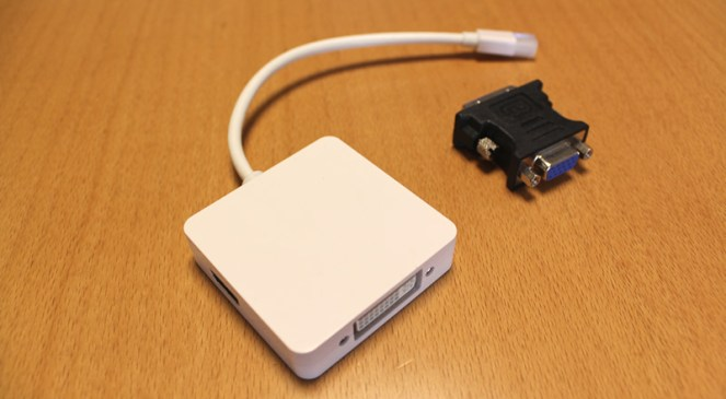 Mini Display Port マルチ変換アダプタ