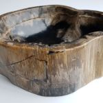 Bowl Petrified Wood 32524 The Art Of Nature Xyleia Natural Interiors
