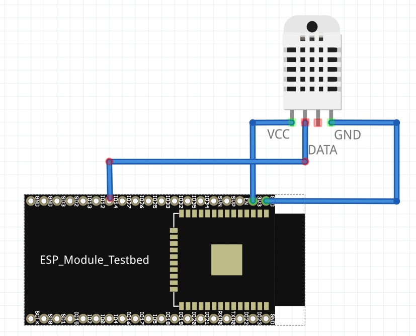 Use an ESP32 board to send DHT to MQTT and then deep sleep | μο