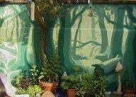 Garden forest mural 2003