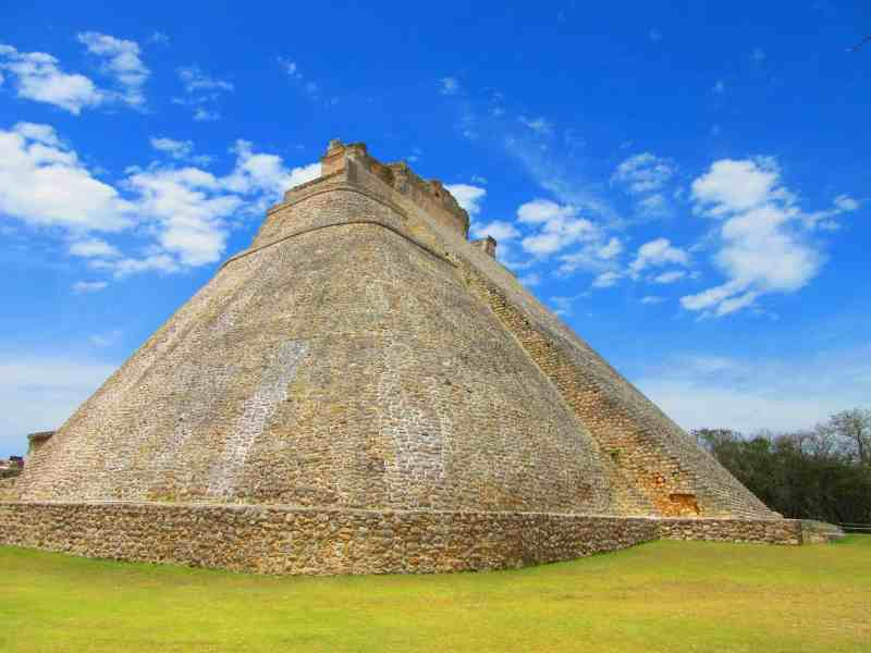 The magicians pyramid Uxmal