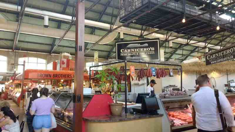 St. Lawrence market butchers and meat