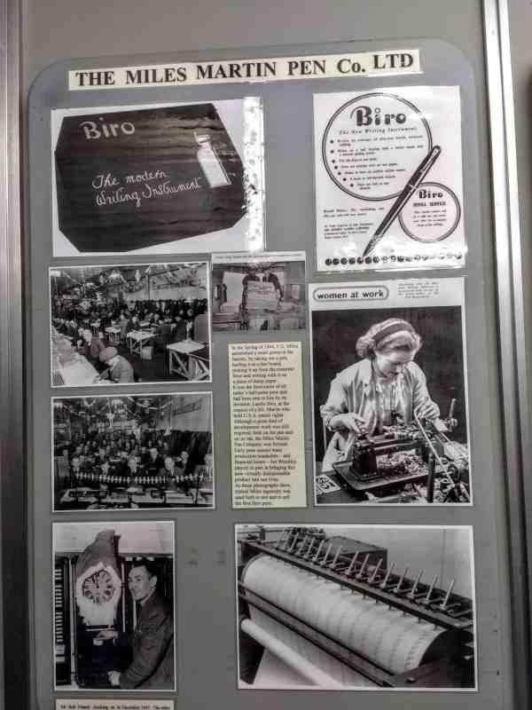 inventing the biro at Berkshire