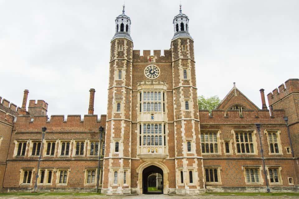 the famous Eton college