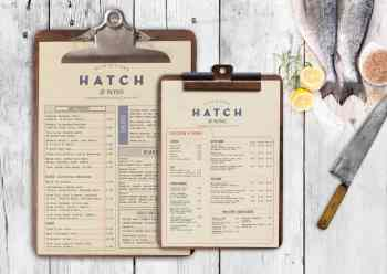 want to dine in Dublin at Hatch's? Here's their menu