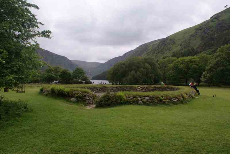 caher ring at glendalough