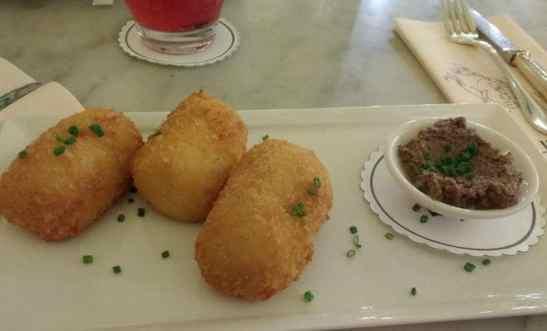 croquettes in Harrods food halls