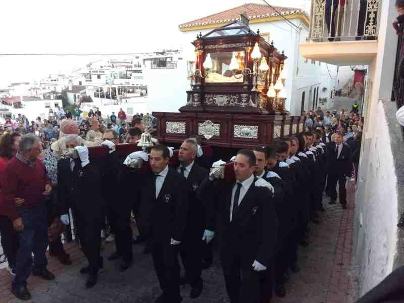 Semana Santa Processions trono of Jesus Christ's coffin