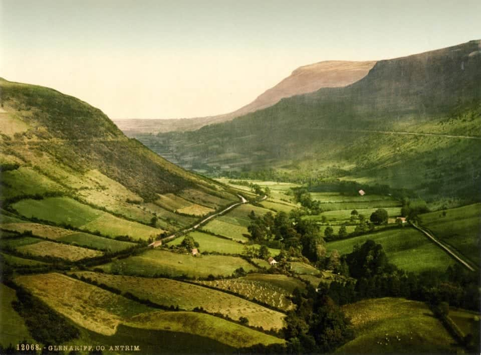 the glorious glens of County Antrim