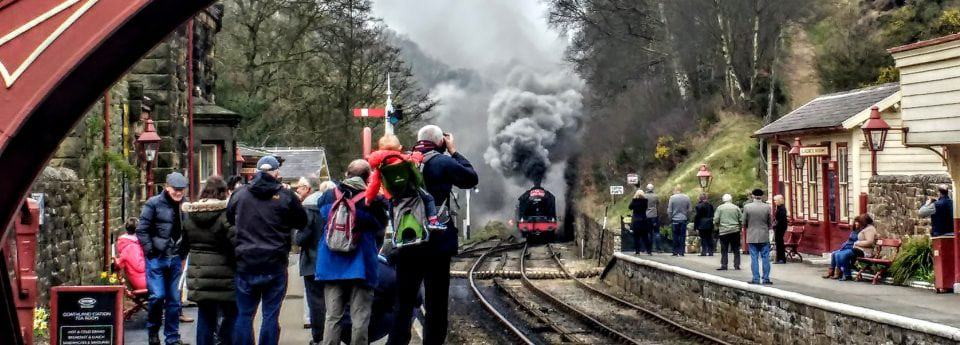 the Harry Potter station of Goathland