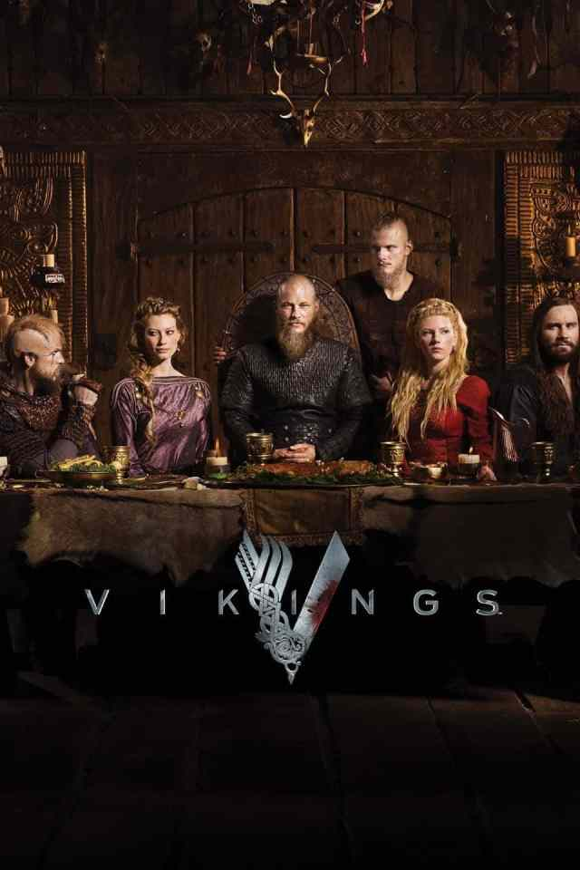 the cast of the History Channels Vikings show which is filmed in Ireland - you can visit all the filming sites of Vikings in Ireland just south of Dublin