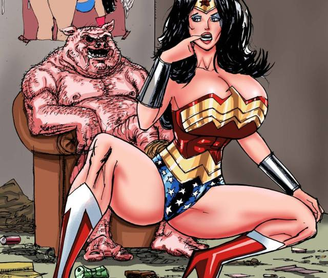 Superposer Wonder Woman Vs Porkum Slut  E  A Free Porn Comics
