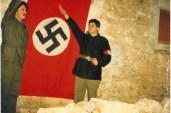 Νίκος Μιχαλολιάκος + Χρήστος Παππάς σε ναζιστικό χαιρετισμό - cebacebeceb9